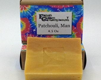 Patchouli Soap ,Essential Oil Soap,Vegan Soap ,Handmade Soap,Natural Soap, Soap, Homemade Soap,Artisan Soap, non-GMO , Bath Bar, Beauty Bar