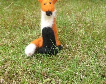 Hand Made Felted Fox