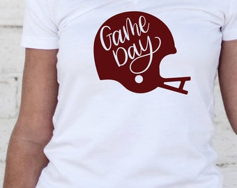 Game Day - Hand Lettered SVG