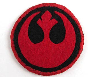 Star Wars Rebel Alliance Badge Pin Button Patch