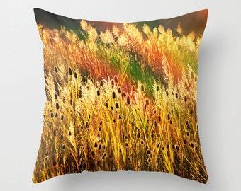 Fall Toss Pillow, Fall Foliage Print, Autumn Pillow, Fall Pillow, Fall Photo, Fall Trees Pillow, Fall Print, Fall Bedding, Fall Picture
