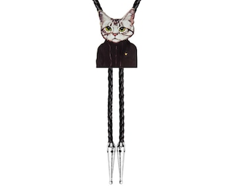 Bolo Ties - Serious Cat