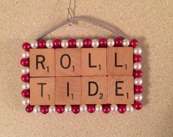 Handmade Scrabble Tile Ornament!!!