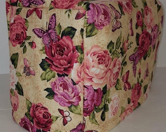Roses & Butterflies Toaster Cover
