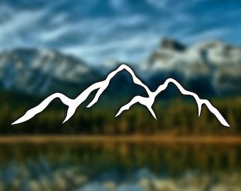Misty Mountain Wallpaper Foggy Mountain Silhouette Wall Mural