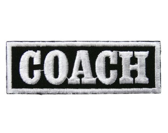 COACH Embroidered Applique Iron on Patch