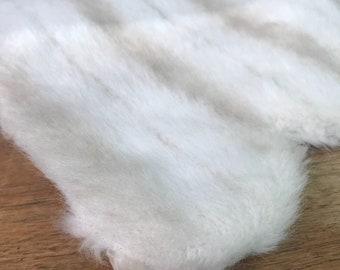 Vintage faux fur wrap / shrug / shawl / stole