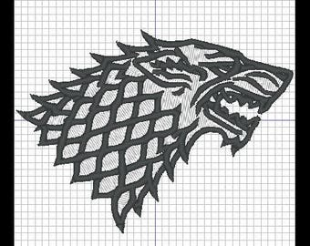 embroidery design - GAME OF THRONES (GOT)