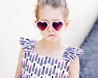 the Girl's EASY SUMMER DRESS pattern - pdf