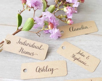 Wedding Place Cards Etsy AU - Wedding invitation templates: wedding place card size