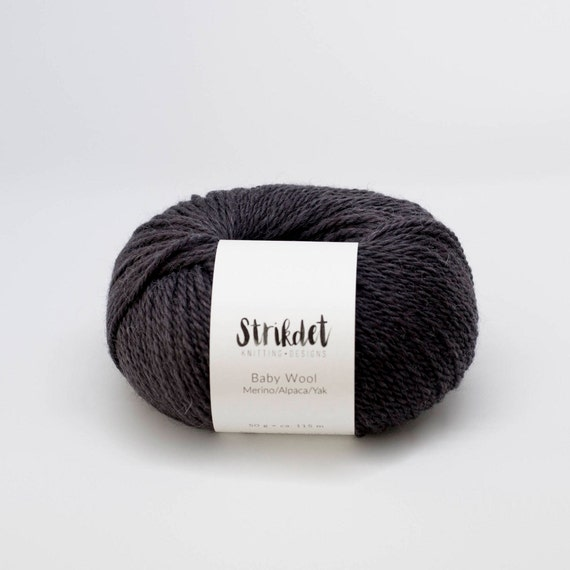 STRIKDET Baby Wool - black