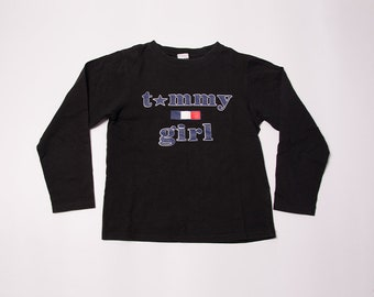 Vintage Tommy Girl 90s Long Sleeved Tshirt