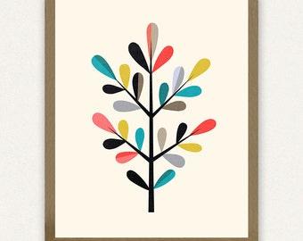 8x10 - Modern Branch Printable Art