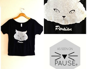 Black and white cat shirt, cat tee, cat t shirt, funny cat shirt, cute cat, hipster shirt, teen girl apparel, crazy cat lady, gift cat lover