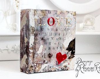 Memory box keepsake box treasure box wooden box decorative box unique box unique gift love gift for her one of a kind romantic gift keepsake