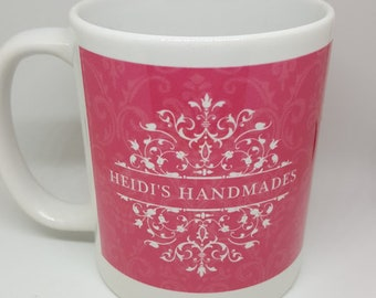 Heidi's Handmades Mug - Ceramic Mug - With Anne Shirley Quote