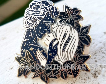 """To See Them Was to See Hope - 2"""" 12/Clara Enamel Pin"""