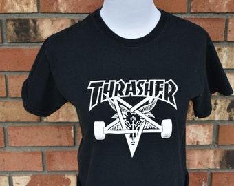 Thrasher Crop Top