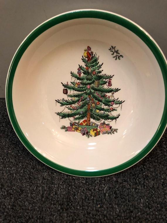 FREE SHIPPING-Spode-Christmas Tree-England-6 1/4 inch-Bowl