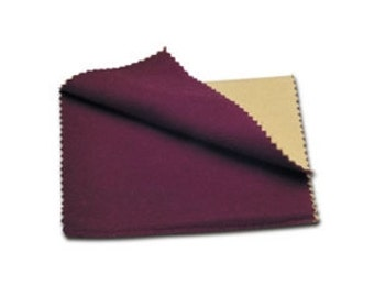 Soft Red Rouge Jewelry Polishing Cloth 2 Sided 6x8 Inch
