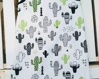 Cactus tank romper, shorts romper, baby romper, toddler romper
