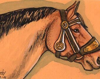 Mini Artwork Drafthorse
