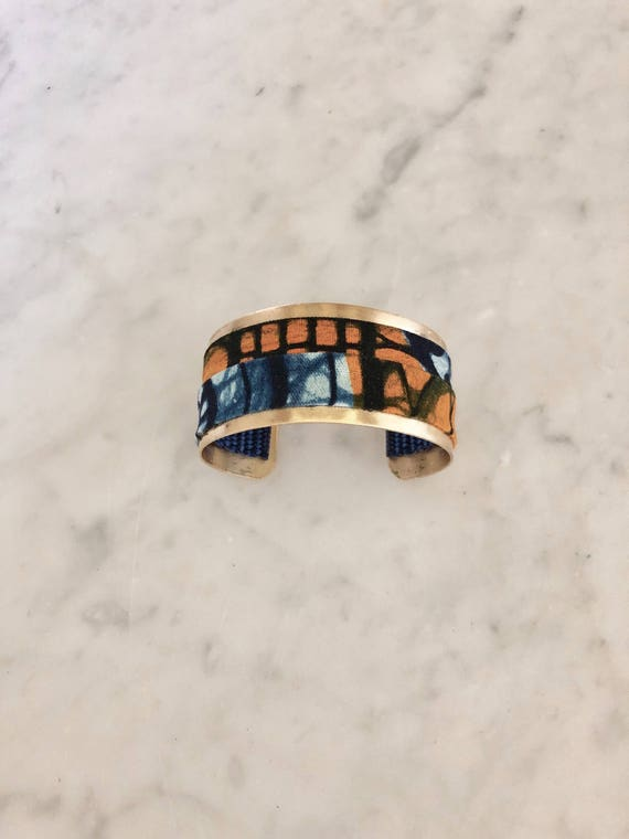 Lwala Cuff - orange collection