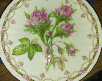 Duchess Bone China Rose Saucer