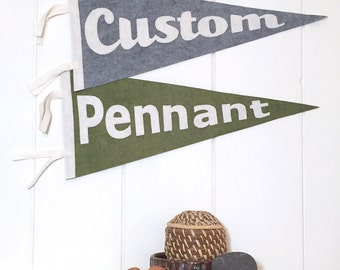Custom Pennant - You Choose the Design!