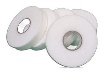 Iron On Hemming Web Reel 100 meters Hem It Tape (w)19mm And (w)25mm 1 inch