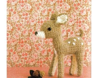 Amigurumi Doe Plush Crochet Pattern PDF