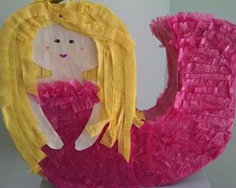 Mermaid Piñata - In stock ready to ship