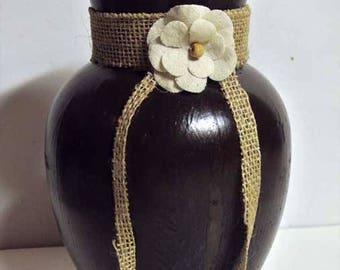 Brown Vase 3