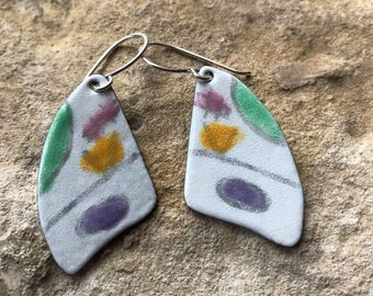 Spring and summer earrings