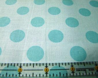 Aqua Dots Fabric by the Yard Riley Blake