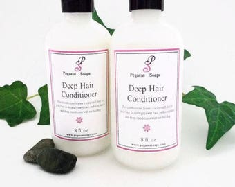 Deep Hair  Conditioner 8 oz  Select Your Own Scent