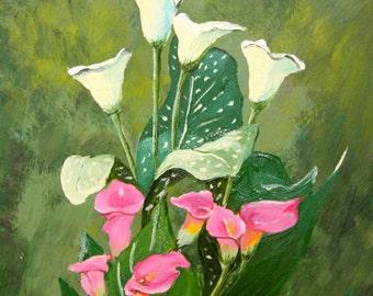 Calla Lilies- Fine Art Cards