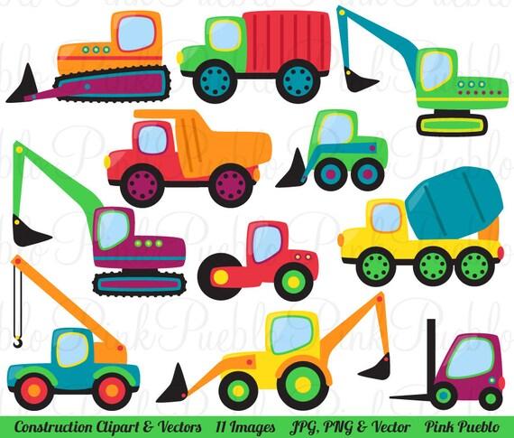 construction transportation clipart clip art vectors great rh etsy com transportation clip art in black and white transportation clip art images