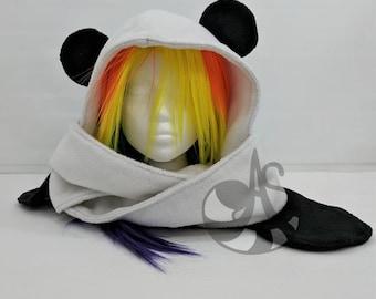 Panda Hooded Scarf