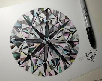 Diamond Print (signed)