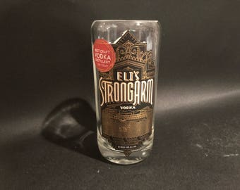 Tom's Town Candle/ Tom's Town Vodka Bottle Candle/ Tom's Town Eli's Strongarm Vodka Bottle Soy Candle. Made To Order !!!!!