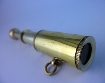 25 pcs 83 mm 40 mm diameter 16mm Mini Telescope Pendant Findings