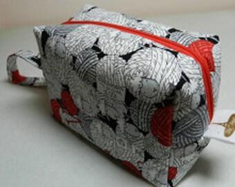 Sheepy Skein Box Bag