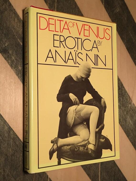 Delta Venus by Anais Nin (1977) erotica book