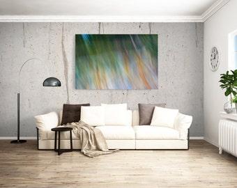 Motion Art / Movement Print / Fine Art Photography / Home Decor / Art / Green Art