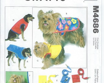 McCalls 4686 - Dog Coats & Accessories