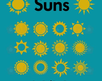 Sun SVG,DXF,PNG,eps,pdf,jpg,43 files,cutting file,suns svg,sunny,sun summer,kinds sun,cricut,cameo,silhouette