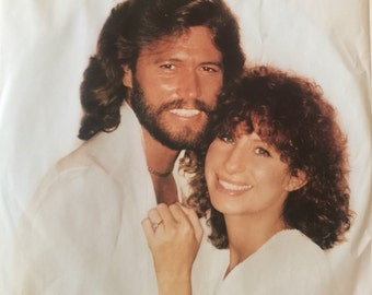Barbar Streisand GUILTY Duet with Barry Gibb Vinyl