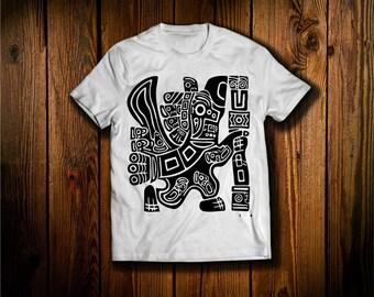 Aztec  Eagle T Shirt