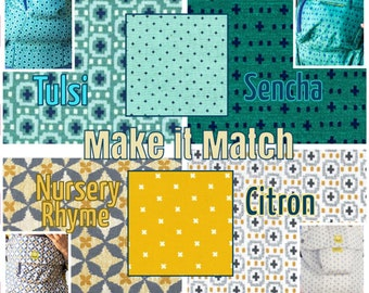 Lillebaby 3-pc sets. Straight or Curved Pads.  New Woven carriers. Citron, Sencha, Tulsi, and Nursery Ryhme. MAKE it MATCH.